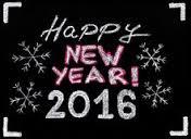 De allerbeste wensen voor 2016